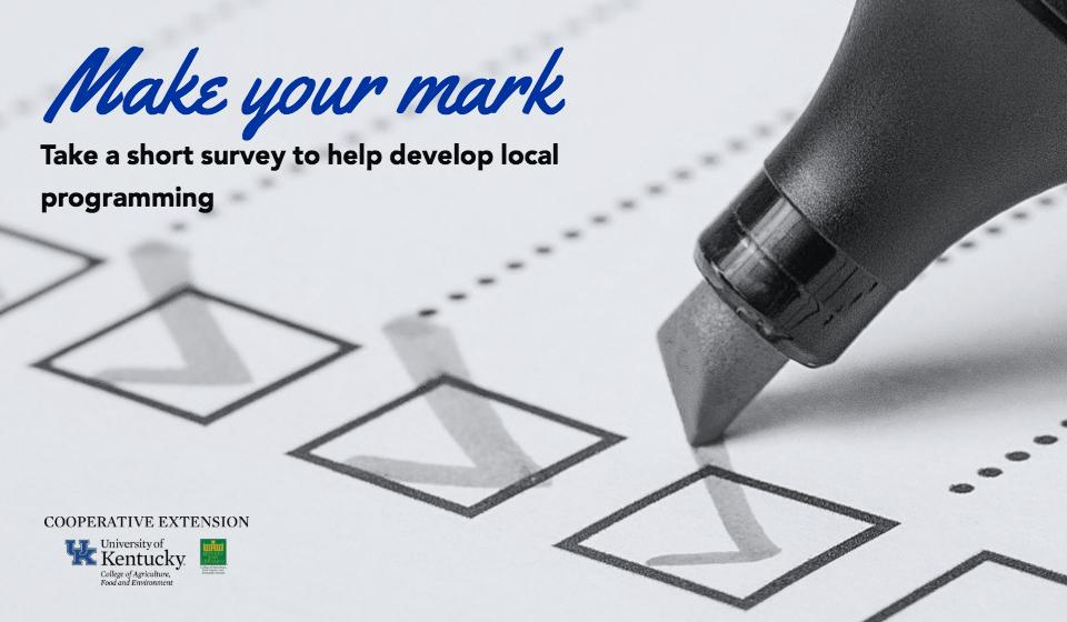 Click here for the community assessment survey